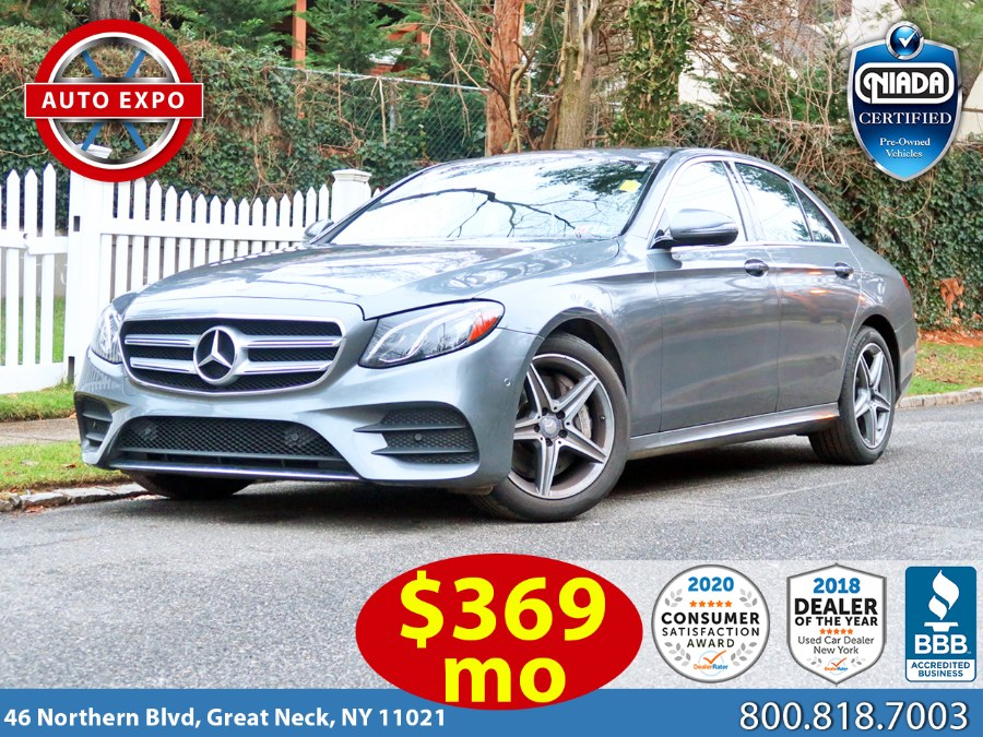 Used Mercedes-benz E-class E 300 2017 | Auto Expo Ent Inc.. Great Neck, New York