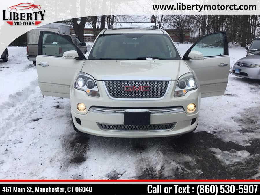 Used 2011 GMC Acadia Denali in Manchester, Connecticut | Liberty Motors. Manchester, Connecticut