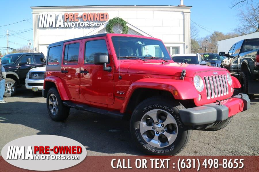 Used 2016 Jeep Wrangler Unlimited in Huntington, New York | M & A Motors. Huntington, New York