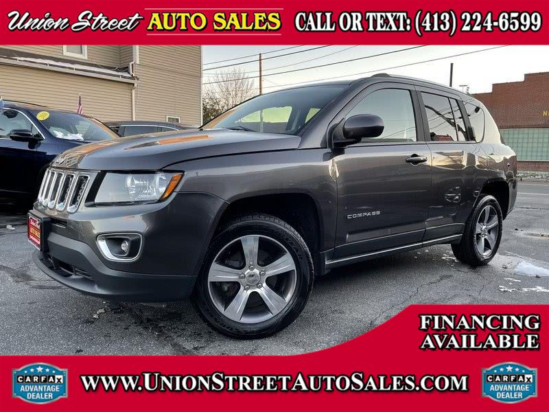Used Jeep Compass 4WD 4dr Latitude 2016 | Union Street Auto Sales. West Springfield, Massachusetts