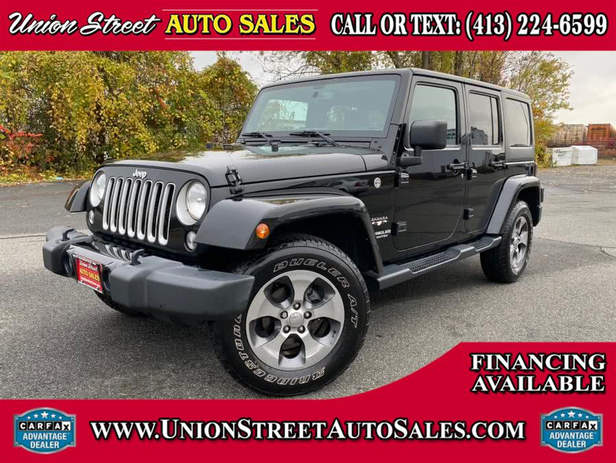 Used 2016 Jeep Wrangler Unlimited in West Springfield, Massachusetts | Union Street Auto Sales. West Springfield, Massachusetts