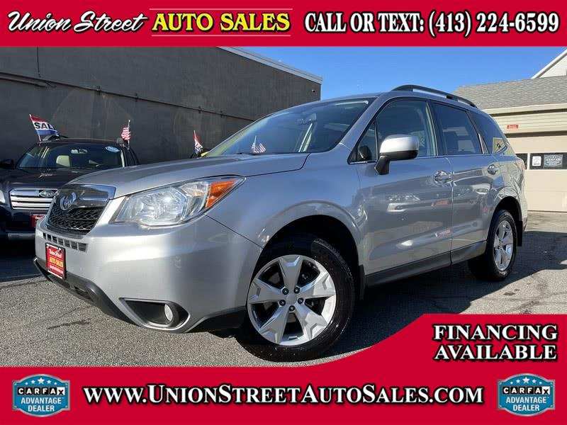 Used 2015 Subaru Forester in West Springfield, Massachusetts | Union Street Auto Sales. West Springfield, Massachusetts
