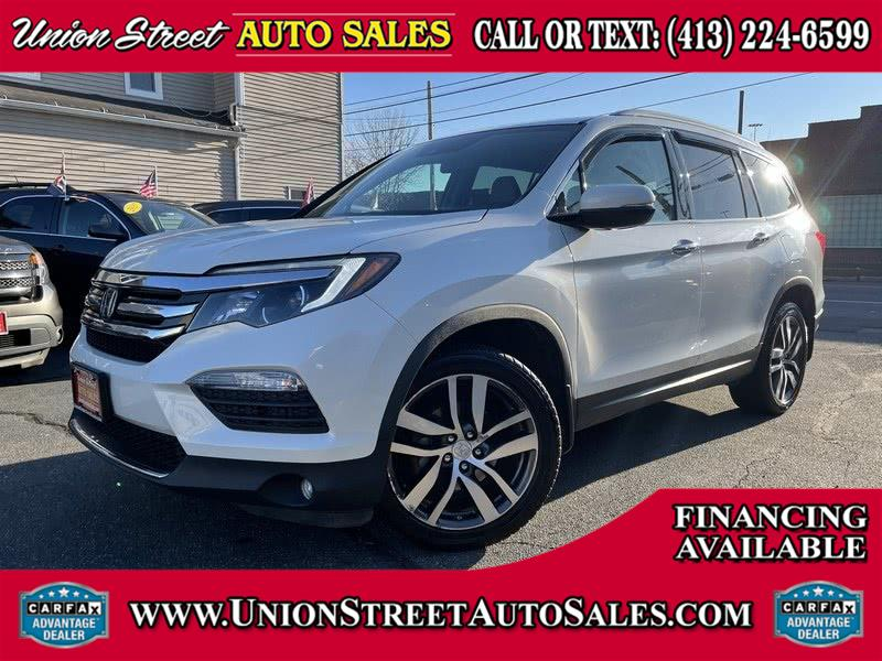 Used Honda Pilot AWD 4dr Touring w/RES & Navi 2016 | Union Street Auto Sales. West Springfield, Massachusetts