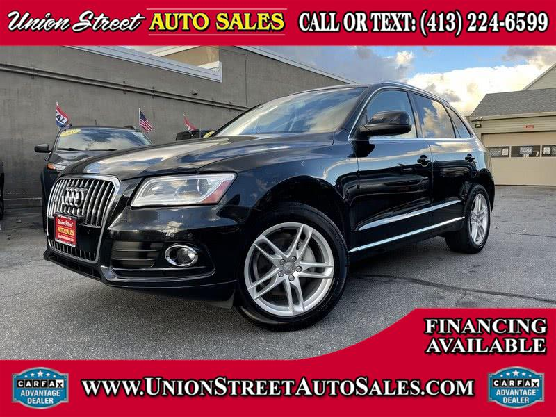 Used 2014 Audi Q5 in West Springfield, Massachusetts | Union Street Auto Sales. West Springfield, Massachusetts