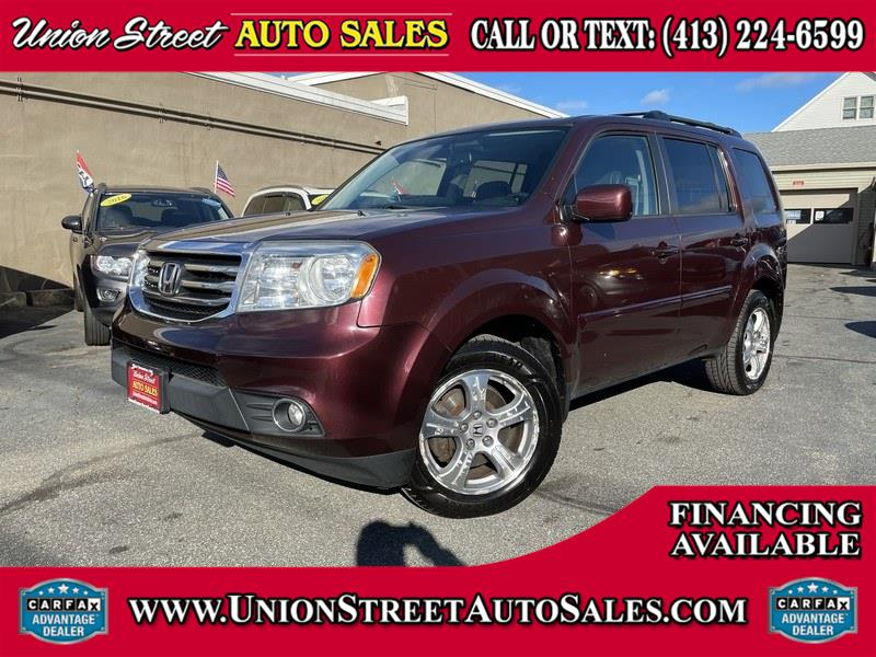 Used 2013 Honda Pilot in West Springfield, Massachusetts | Union Street Auto Sales. West Springfield, Massachusetts