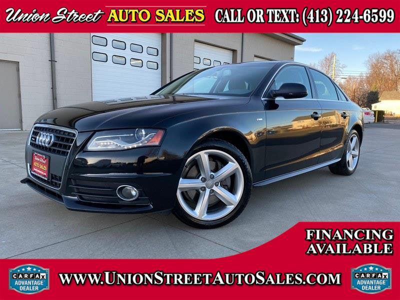 Used 2012 Audi A4 in West Springfield, Massachusetts | Union Street Auto Sales. West Springfield, Massachusetts