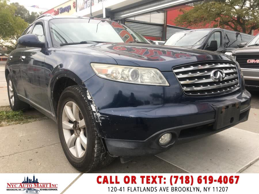 Used Infiniti FX35 4dr AWD 2005 | NYC Automart Inc. Brooklyn, New York