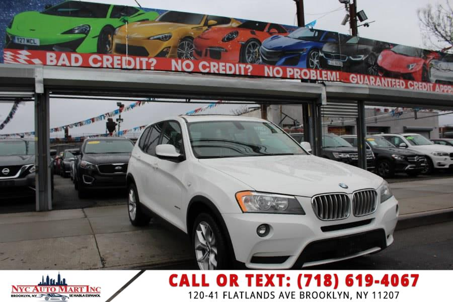 Used BMW X3 AWD 4dr xDrive28i 2013 | NYC Automart Inc. Brooklyn, New York