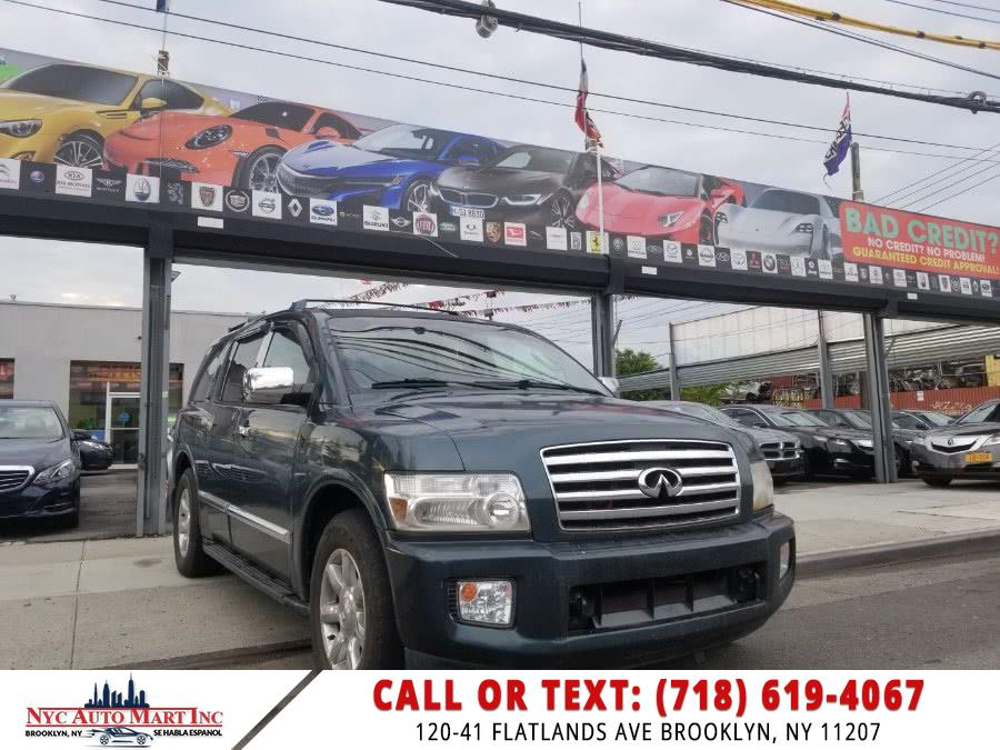 Used Infiniti QX56 4dr 4WD 2005 | NYC Automart Inc. Brooklyn, New York
