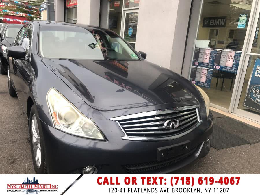 Used Infiniti G37 Sedan 4dr x AWD 2010 | NYC Automart Inc. Brooklyn, New York