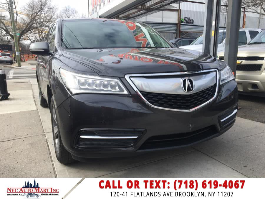 Used 2015 Acura MDX in Brooklyn, New York | NYC Automart Inc. Brooklyn, New York