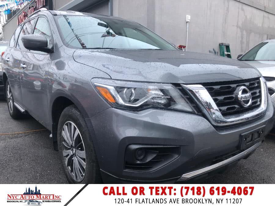 Used 2018 Nissan Pathfinder in Brooklyn, New York | NYC Automart Inc. Brooklyn, New York