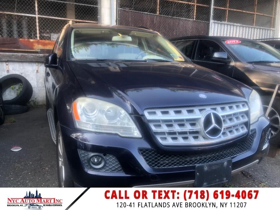Used Mercedes-Benz M-Class 4MATIC 4dr ML 350 2011 | NYC Automart Inc. Brooklyn, New York