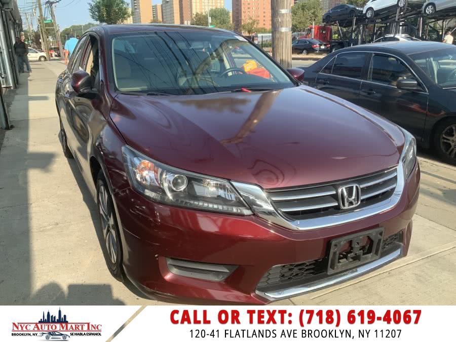 Used 2015 Honda Accord Sedan in Brooklyn, New York | NYC Automart Inc. Brooklyn, New York
