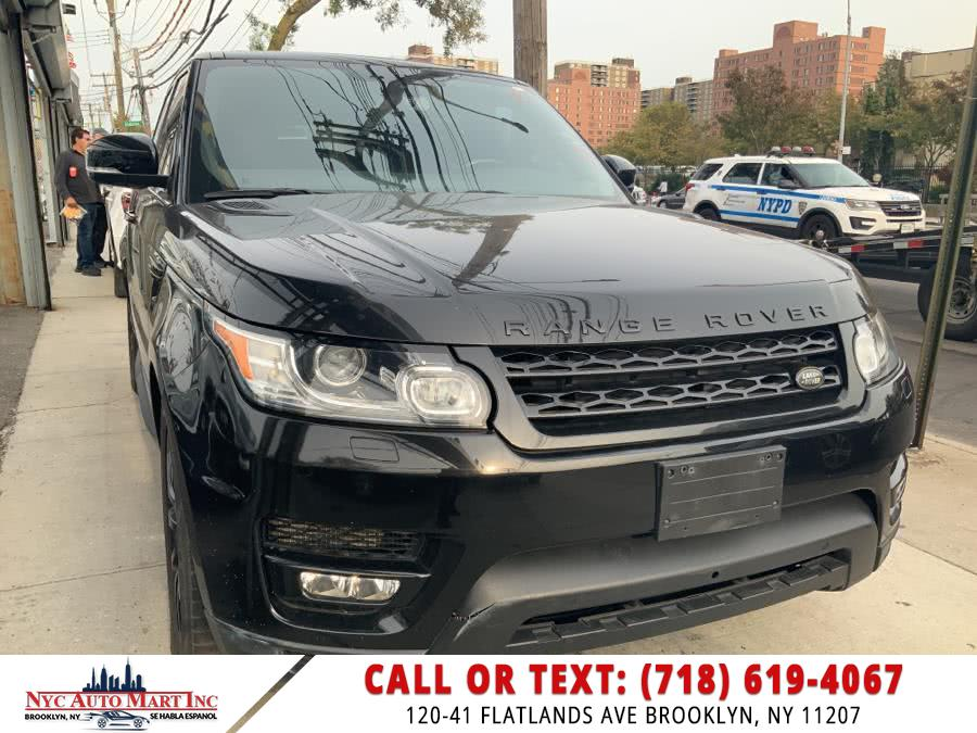 Used Land Rover Range Rover Sport 4WD 4dr V6 HSE 2016 | NYC Automart Inc. Brooklyn, New York