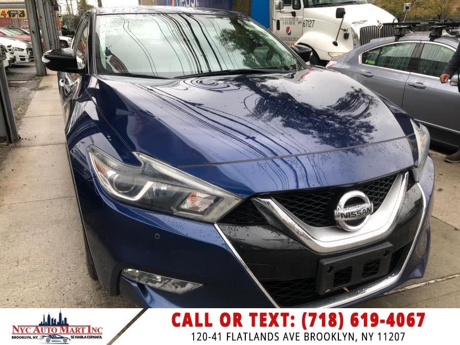 Used 2016 Nissan Maxima in Brooklyn, New York | NYC Automart Inc. Brooklyn, New York