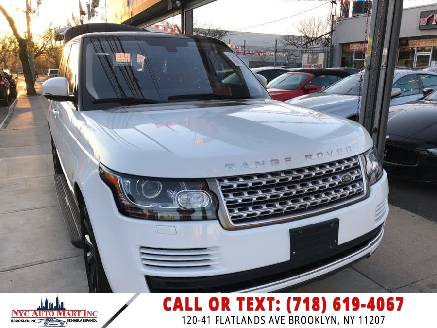 Used Land Rover Range Rover 4WD 4dr HSE 2016 | NYC Automart Inc. Brooklyn, New York