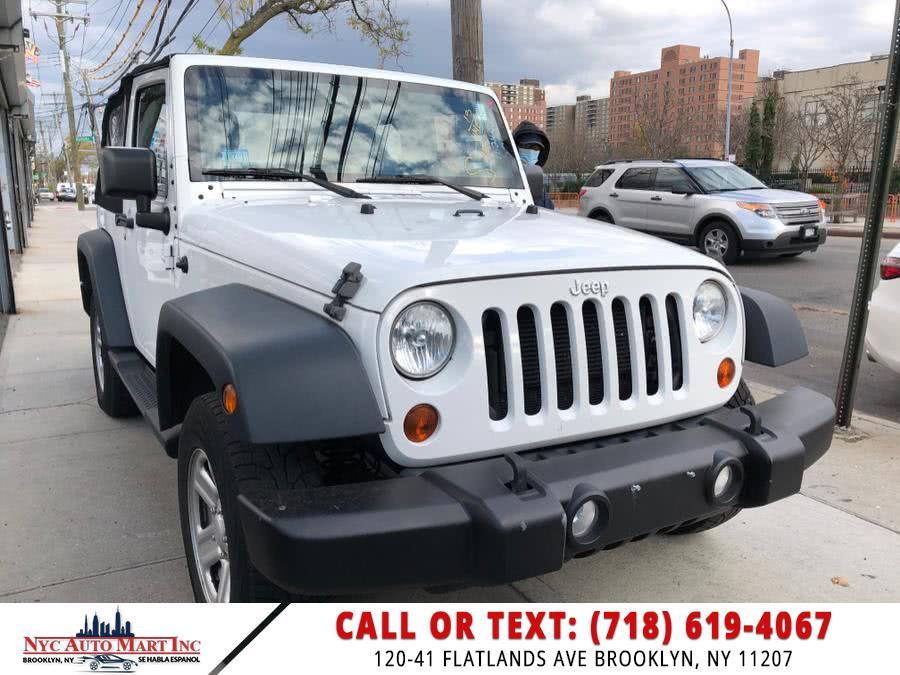 Used 2013 Jeep Wrangler in Brooklyn, New York | NYC Automart Inc. Brooklyn, New York