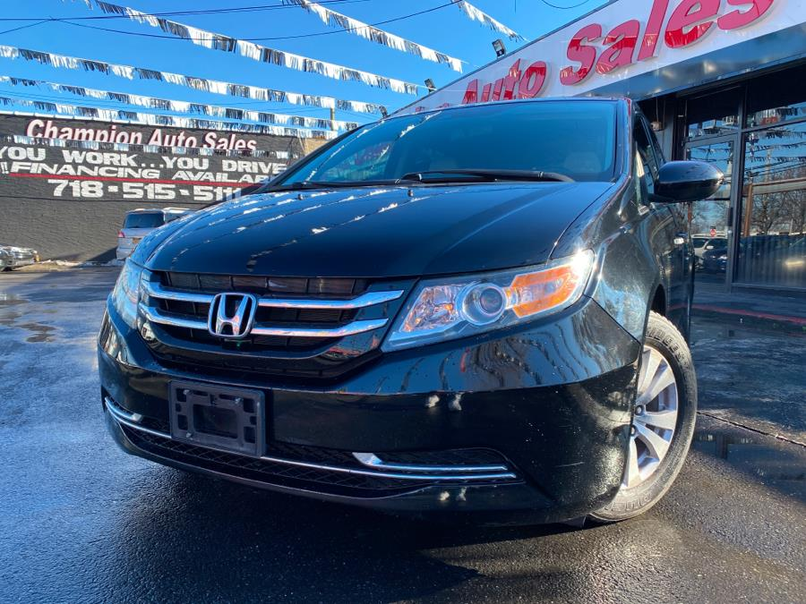 Used 2014 Honda Odyssey in Bronx, New York | Champion Auto Sales Of The Bronx. Bronx, New York