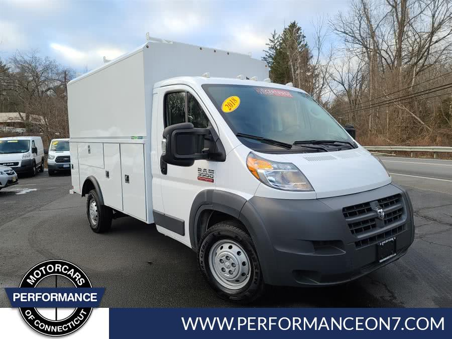 Used 2018 Ram ProMaster Cutaway in Wilton, Connecticut | Performance Motor Cars. Wilton, Connecticut