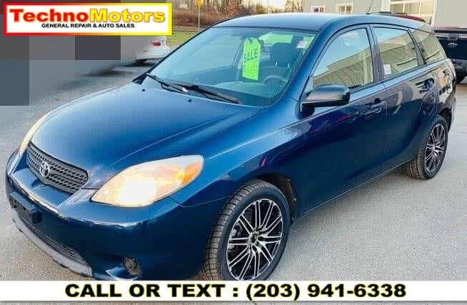 Used 2007 Toyota Matrix in Danbury , Connecticut | Techno Motors . Danbury , Connecticut