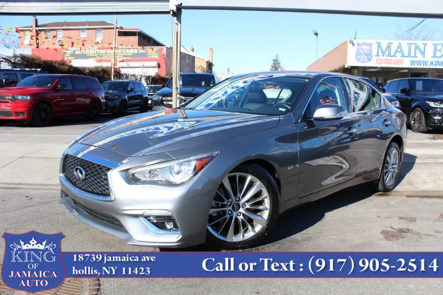 Used INFINITI Q50 3.0t LUXE RWD 2020 | King of Jamaica Auto Inc. Hollis, New York