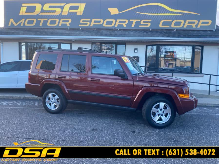 Used Jeep Commander 4WD 4dr Sport 2007 | DSA Motor Sports Corp. Commack, New York