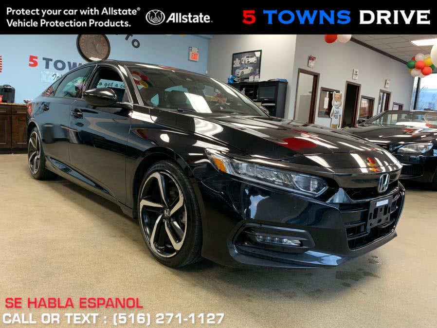 Used 2018 Honda Accord Sedan in Inwood, New York | 5 Towns Drive. Inwood, New York