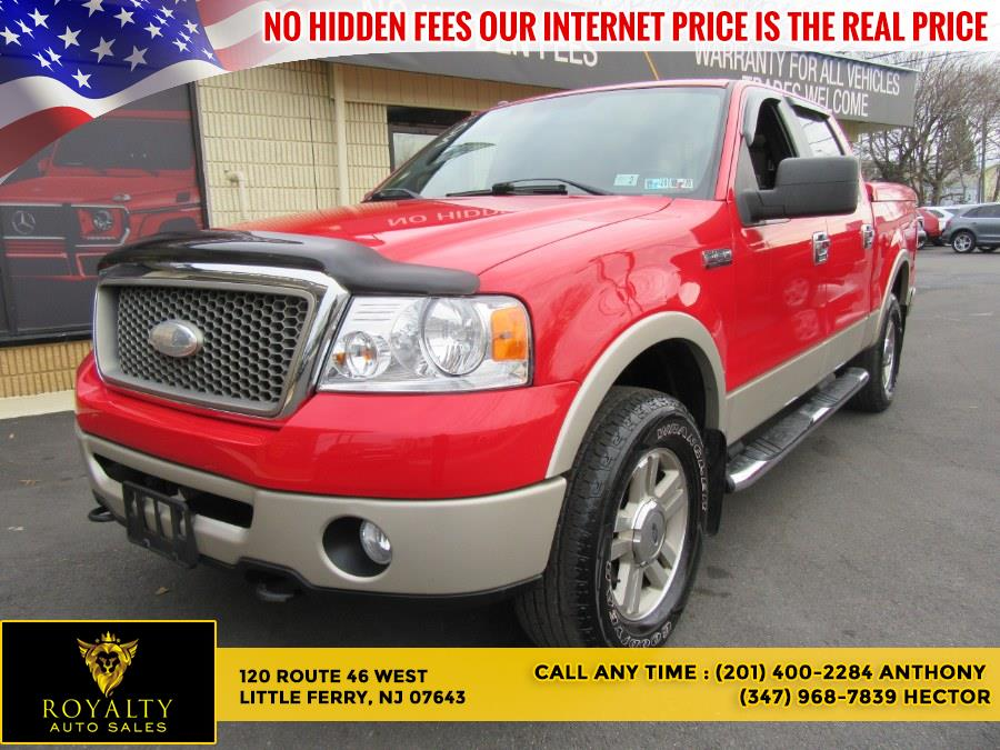 Used 2007 Ford F-150 in Little Ferry, New Jersey | Royalty Auto Sales. Little Ferry, New Jersey