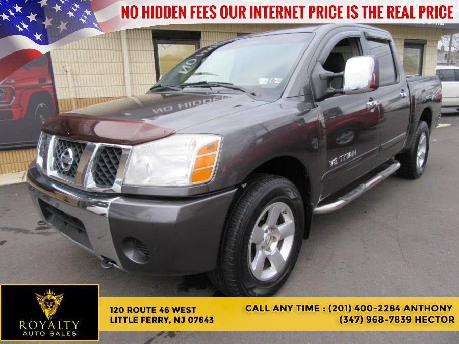 Used 2005 Nissan Titan in Little Ferry, New Jersey | Royalty Auto Sales. Little Ferry, New Jersey
