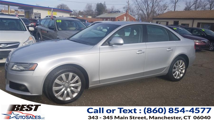 Used 2009 Audi A4 in Manchester, Connecticut | Best Auto Sales LLC. Manchester, Connecticut