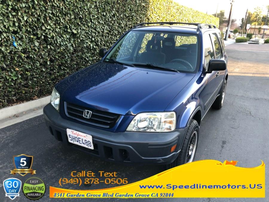 Used Honda CR-V 2WD LX Auto 1999 | Speedline Motors. Garden Grove, California