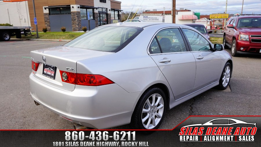 Used Acura TSX 4dr Sdn AT Navi 2007 | Silas Deane Auto LLC. Rocky Hill , Connecticut