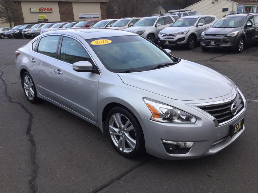Used Nissan Altima 4dr Sdn V6 3.5 SL *Ltd Avail* 2015 | L&S Automotive LLC. Plantsville, Connecticut