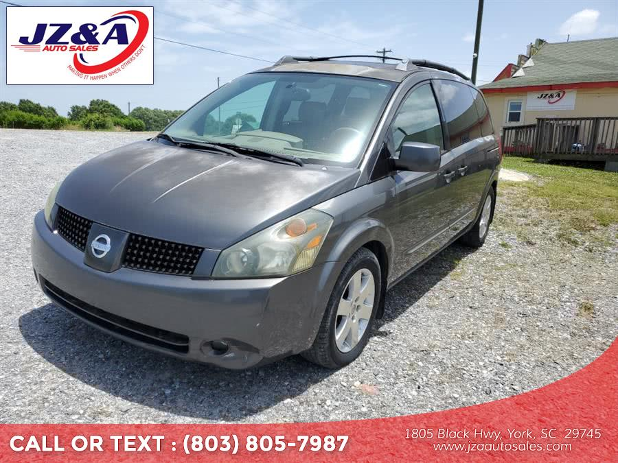 Used Nissan Quest 4dr Van S 2004 | J Z & A Auto Sales LLC. York, South Carolina