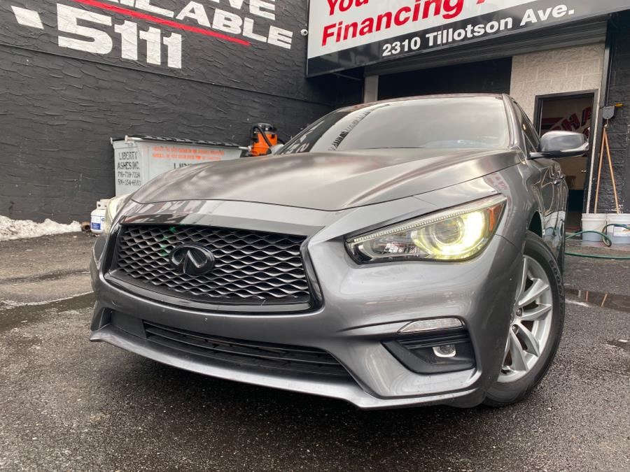 Used 2019 INFINITI Q50 in Bronx, New York | Champion Auto Sales Of The Bronx. Bronx, New York