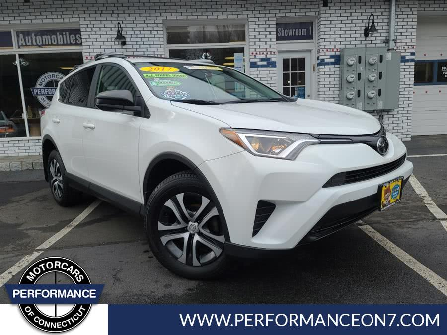 Used Toyota RAV4 LE AWD (Natl) 2017 | Performance Motor Cars. Wilton, Connecticut