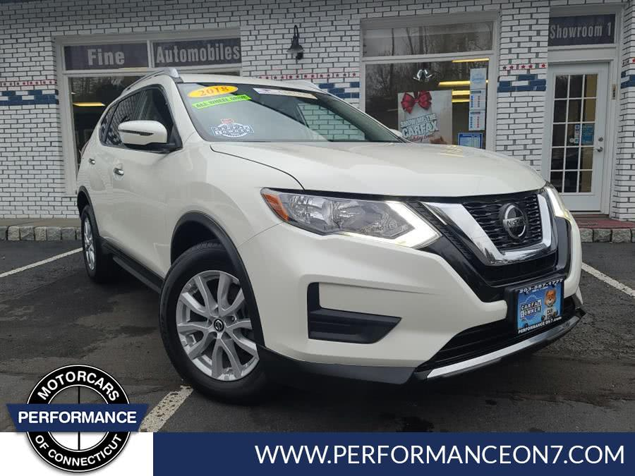 Used Nissan Rogue AWD SL 2018 | Performance Motor Cars. Wilton, Connecticut