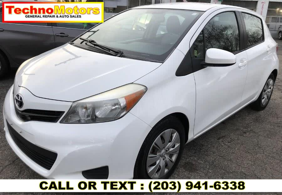 Used 2012 Toyota Yaris in Danbury , Connecticut | Techno Motors . Danbury , Connecticut