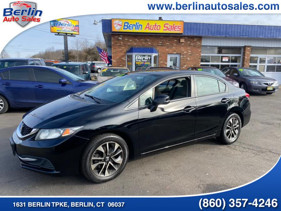 Used Honda Civic Sdn 4dr Auto EX 2013 | Berlin Auto Sales LLC. Berlin, Connecticut
