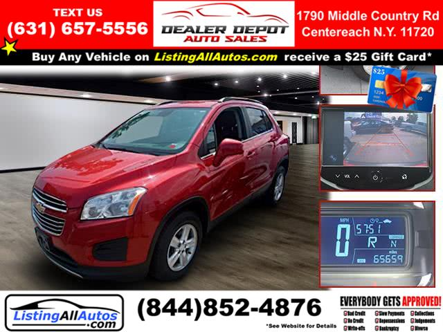 Used Chevrolet Trax AWD 4dr LT 2015 | www.ListingAllAutos.com. Patchogue, New York