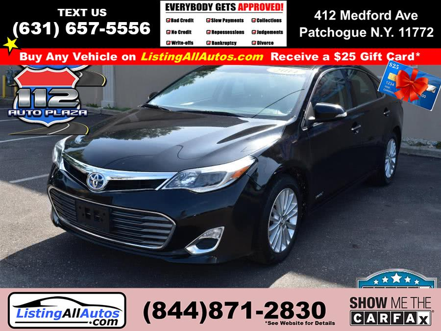 Used Toyota Avalon Hybrid 4dr Sdn XLE Premium (Natl) 2014 | www.ListingAllAutos.com. Patchogue, New York
