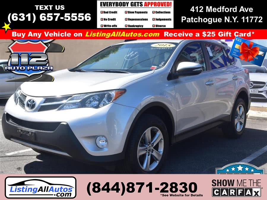 Used Toyota Rav4 XLE AWD 2015 | www.ListingAllAutos.com. Patchogue, New York