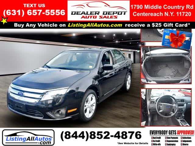 Used Ford Fusion 4dr Sdn SE FWD 2012 | www.ListingAllAutos.com. Patchogue, New York