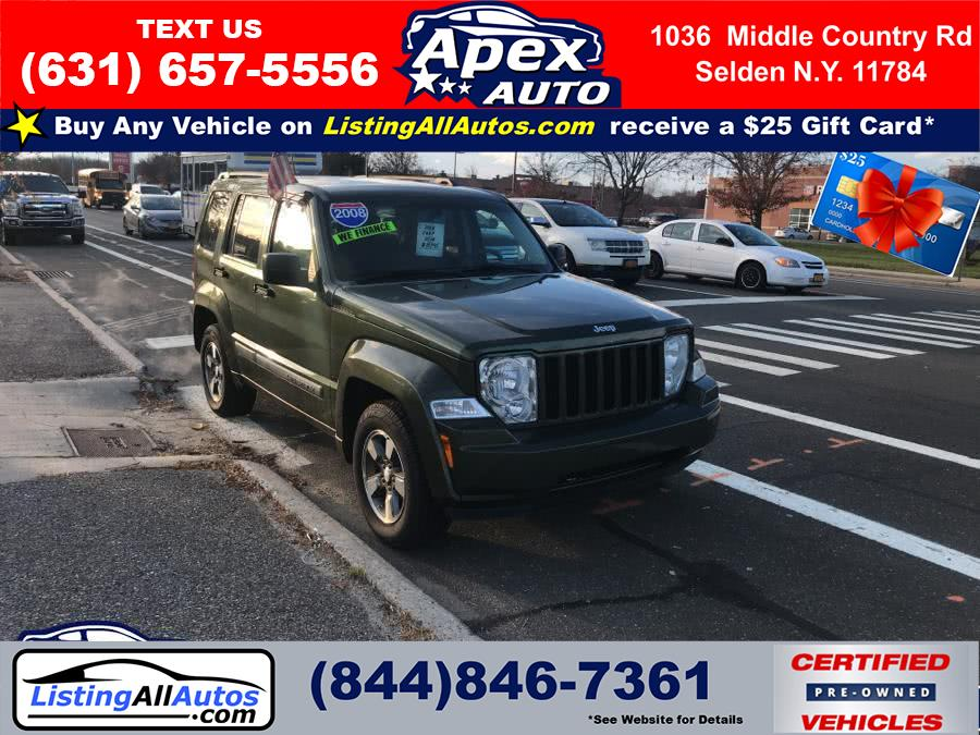 Used Jeep Liberty 4WD 4dr Sport 2008 | www.ListingAllAutos.com. Patchogue, New York