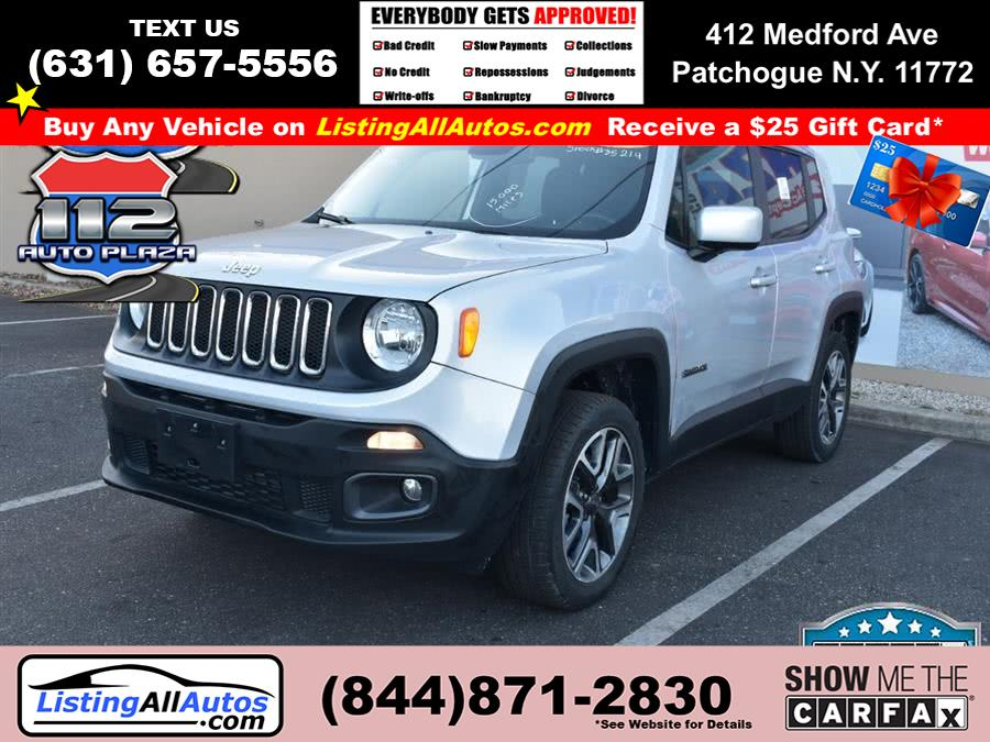 Used Jeep Renegade Latitude 4x4 2017 | www.ListingAllAutos.com. Patchogue, New York
