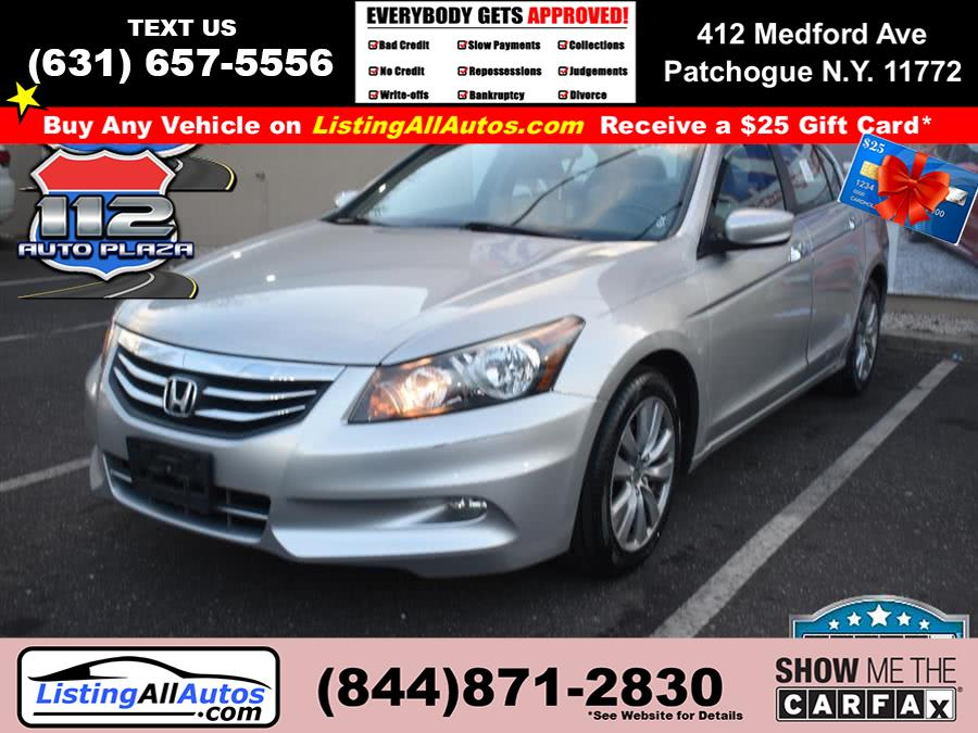 Used Honda Accord Sdn 4dr V6 Auto EX-L 2012 | www.ListingAllAutos.com. Patchogue, New York