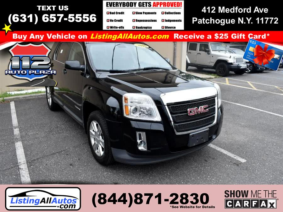 Used GMC Terrain FWD 4dr SLE-1 2010 | www.ListingAllAutos.com. Patchogue, New York