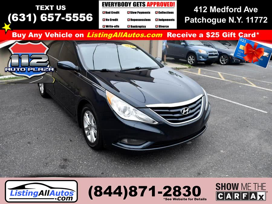 Used Hyundai Sonata 4dr Sdn 2.4L Auto GLS PZEV *Ltd Avail* 2013 | www.ListingAllAutos.com. Patchogue, New York