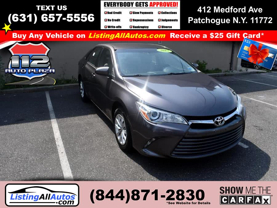 Used 2017 Toyota Camry in Patchogue, New York | www.ListingAllAutos.com. Patchogue, New York